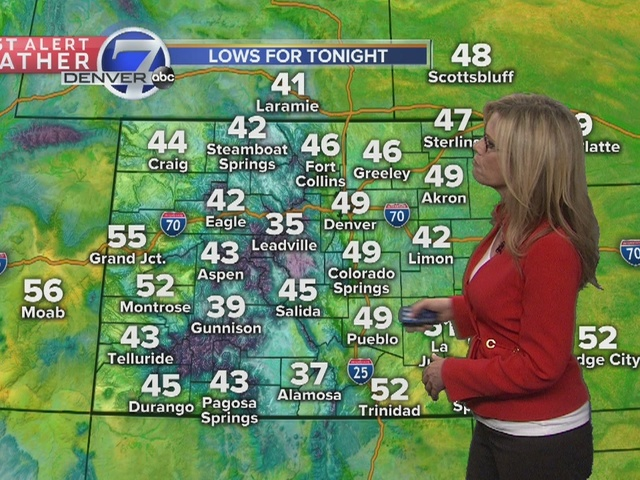 After beautiful, warm weather, it will be a wet Mother's Day weekend