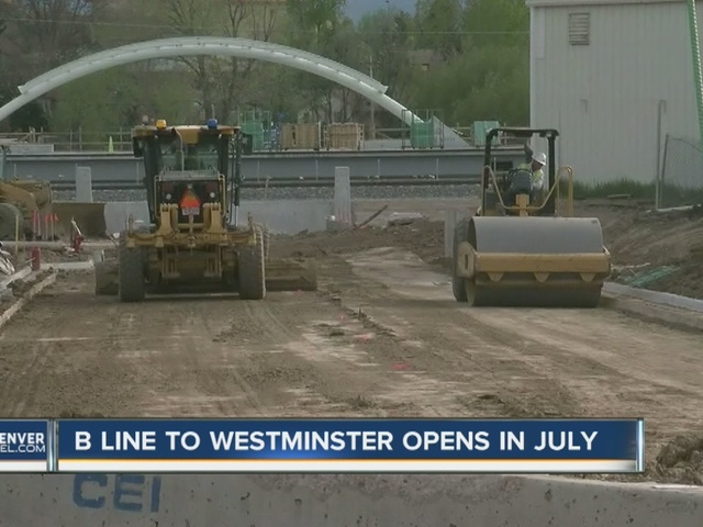 RTD B-Line to Westminster opens in July