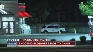 Driver arrested after chase not shooting suspect