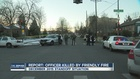 SWAT officer shot by friendly fire, not fugitive