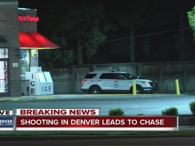 1 hurt, 1 in custody after shooting and police chase