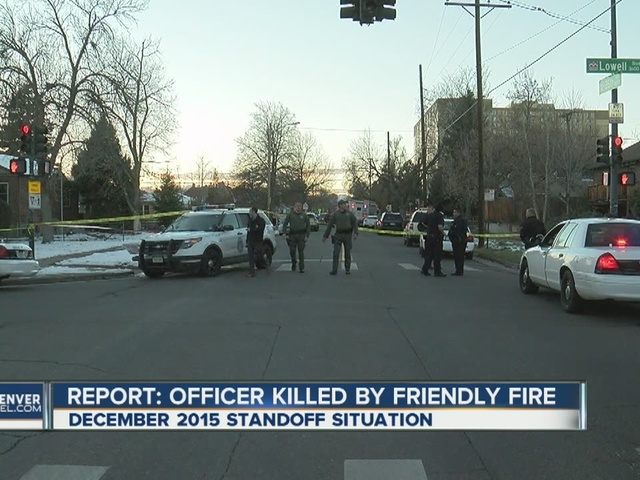 Report says SWAT officer shot in December was shot by