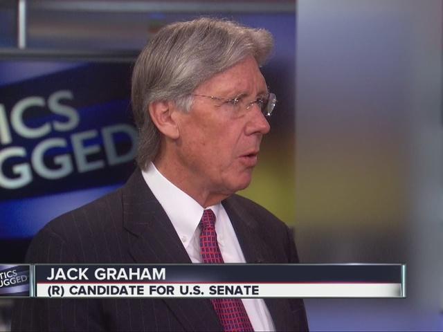 Senate Candidate Jack Graham on Politics Unplugged