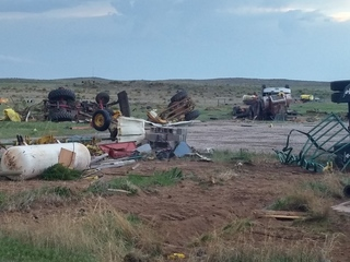Photos: Damage left by eastern Colo. tornadoes