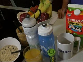 BB Training Week 8: Eating before the race
