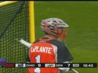 Outlaws goalie Ryan LaPlante is living the dream