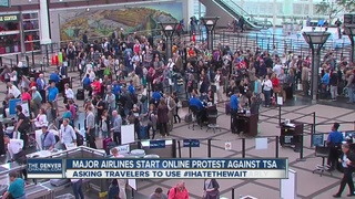 DIA travelers warned to arrive 3 hours early