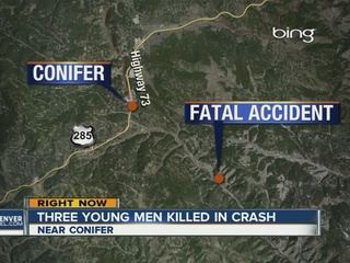 3 young males killed in rollover crash in JeffCo