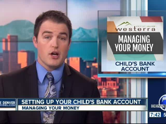 Setting Up Your Child's Bank Account