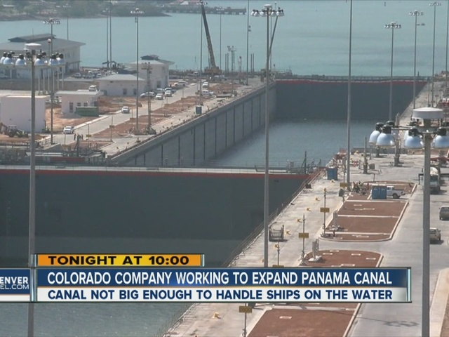 Colorado company helping to expand century-old Panama Canal
