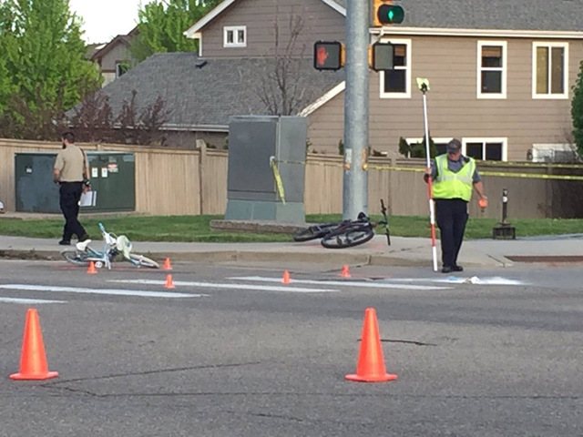8-year-old killed while on bike ride in Longmont