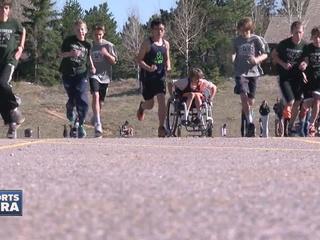 Bolder Boulder vet training kids for big race