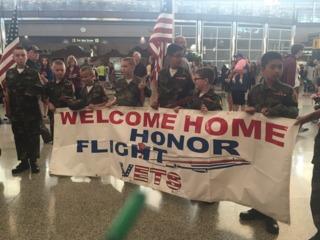 Denver WWII veterans return from honor flight