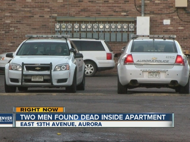 Aurora police investigating double homicide