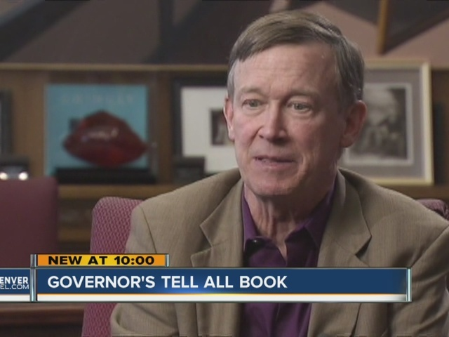 Gov. John Hickenlooper reveals secrets in 'Opposite of Woe: My Life in…