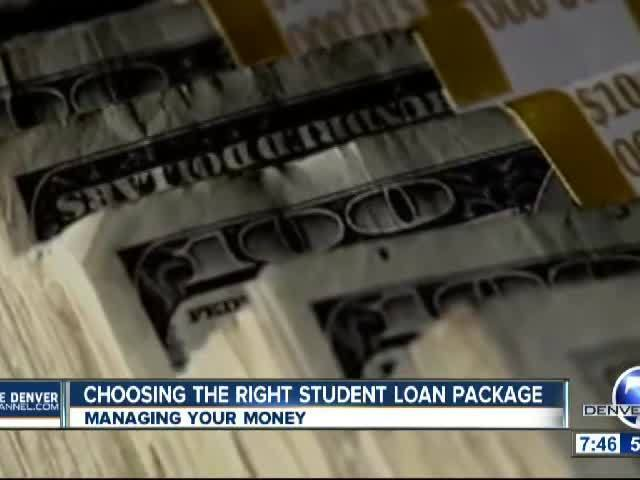 Types of Student Loan Packages