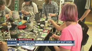 Adams County wants to shut down private pot club