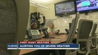 Sophisticated alert systems for severe weather