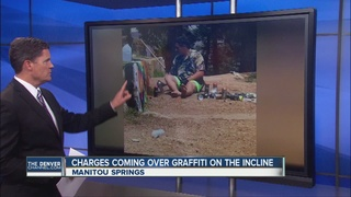 Graffiti discovered on Manitou Springs Incline