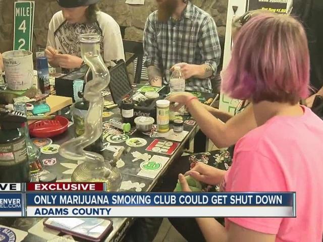 Adams County to seek injunction to shut down private marijuana club