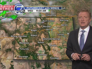 Calmer and drier weather for Wednesday
