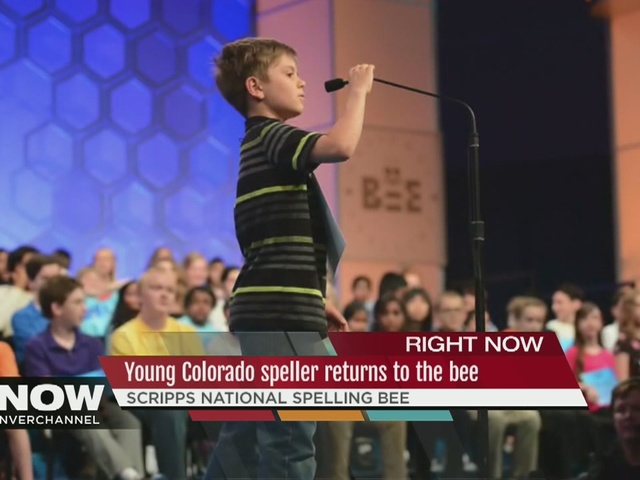 Cameron Keith is one of 2 Colorado kids in Spelling Bee
