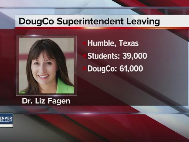 Douglas County Schools Superintendent Liz Fagen leaving for position in Texas