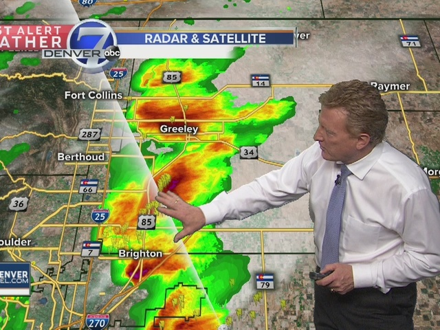 Large hail and damaging winds possible