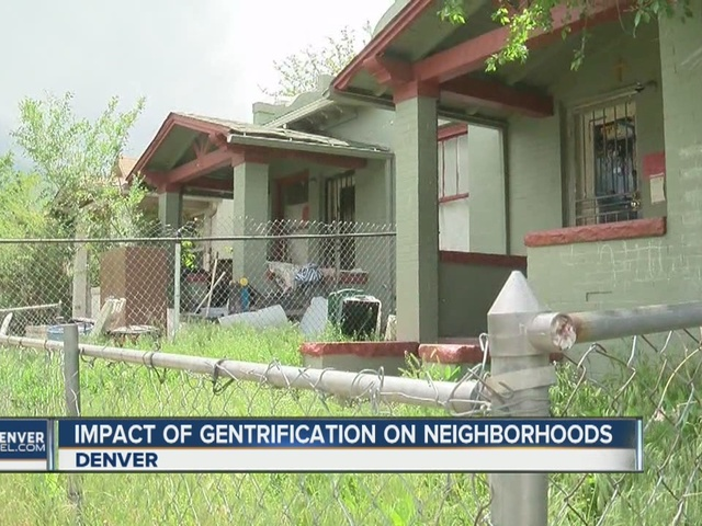 Population growth forcing low-income families out of Denver neighborhoods