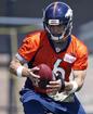Sanchez takes part in Broncos OTA practice