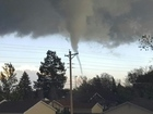 Tornado touches down just south of Akron