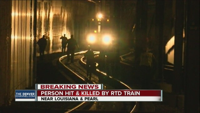Pedestrian killed on light rail tracks