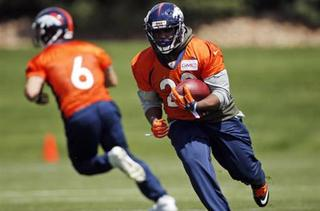 Day 2 of Broncos O.T.A. practice