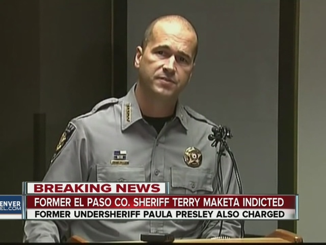 Former El Paso County Sheriff Terry Maketa indicted