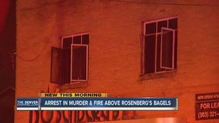 Man arrested for murder above bagel shop