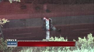 Rain, standing water blamed for multiple crashes
