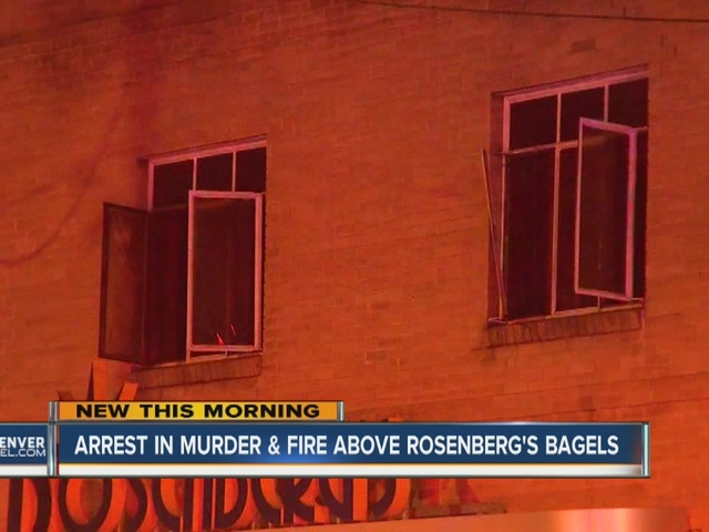 Man arrested in murder above bagel shop