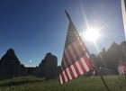 Memorial Day: 100,000 flags placed at Fort Logan