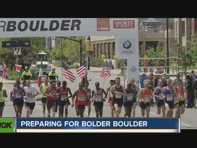 Preparing for the Bolder Boulder