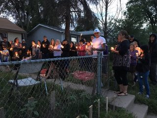 Candlelight vigil for 11-year-old killed on bike