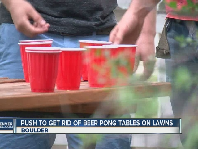 Boulder councilman wants to bounce beer pong tables