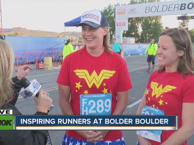 Inspiring runners at Bolder Boulder - Lauren Trede was hit by an SUV a…