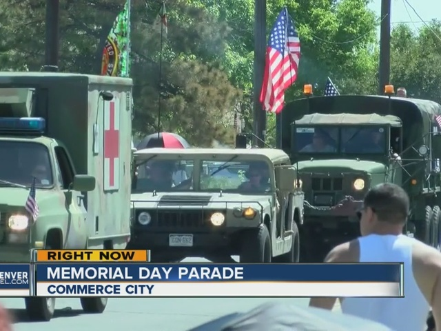 Memorial Day parade in Commerce City is the largest in Colorado