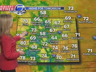 Strong storms for Colorado