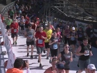 Bolder Boulder finish line videos