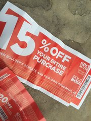 Bolder Boulder Sports Authority coupon - no good
