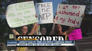 'Free the Nipple' sues Ft. Collins