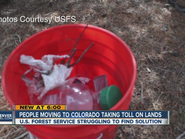 Forest Service, law enforcement try to deal with trashed campgrounds