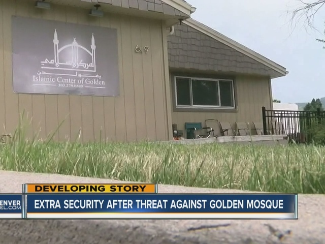 Golden Police investigate threatening emails sent to mosque
