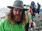 Combat amputee speaks about summiting Everest